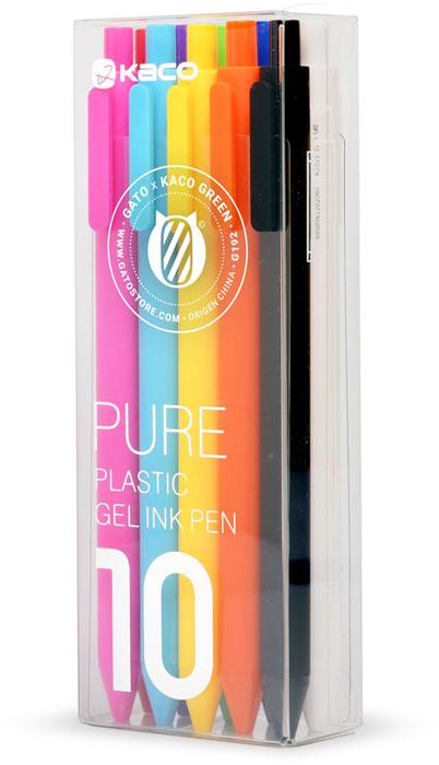 Bolígrafos 10 Colores