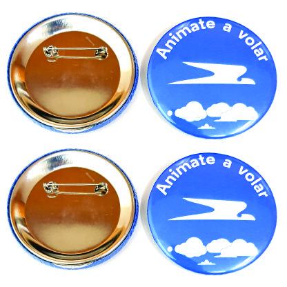 Botones De Chapa Con Logo Full Color