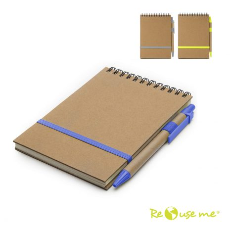 Cuaderno Eco Espiralado A6 C/Boligrafo